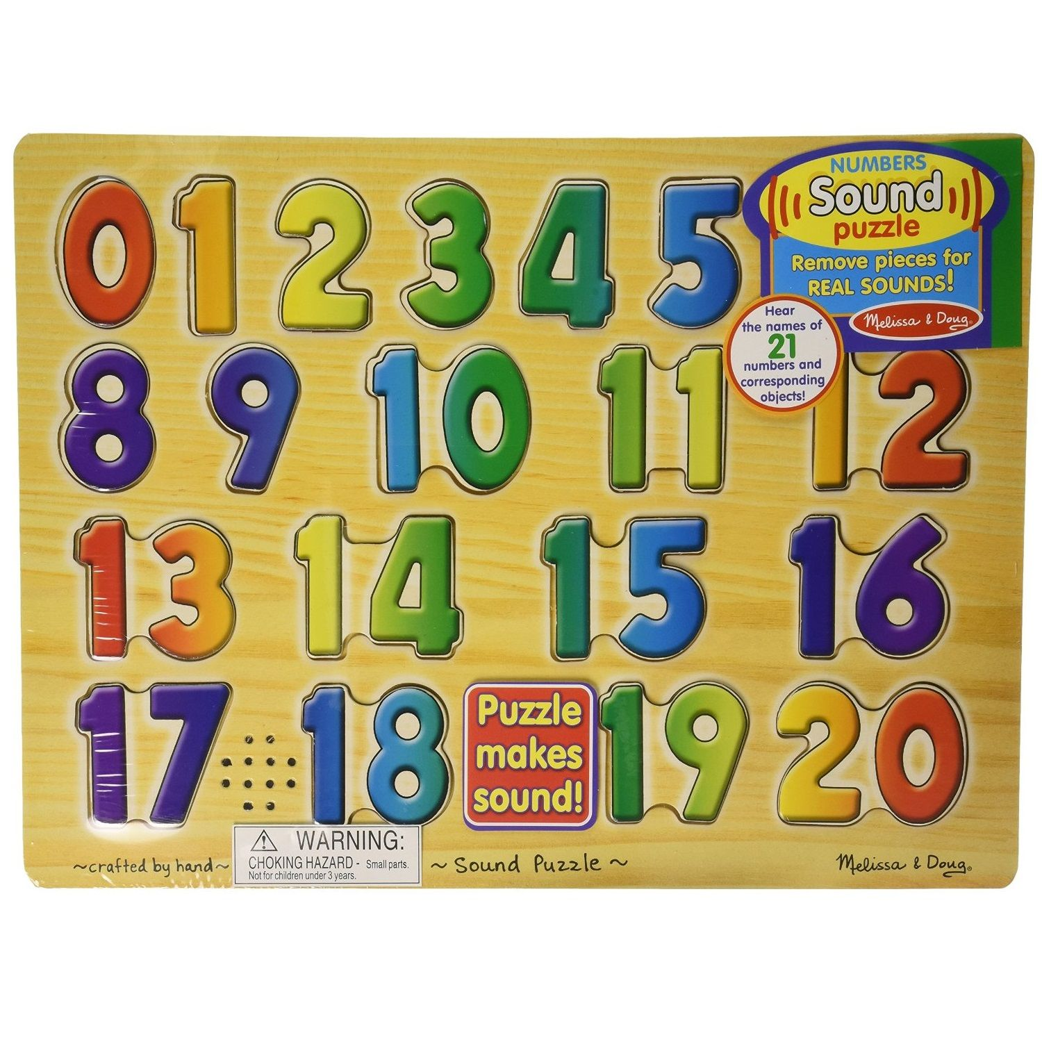 Toys And Co Product Detail Numbers Sound Puzzle Knob Abc
