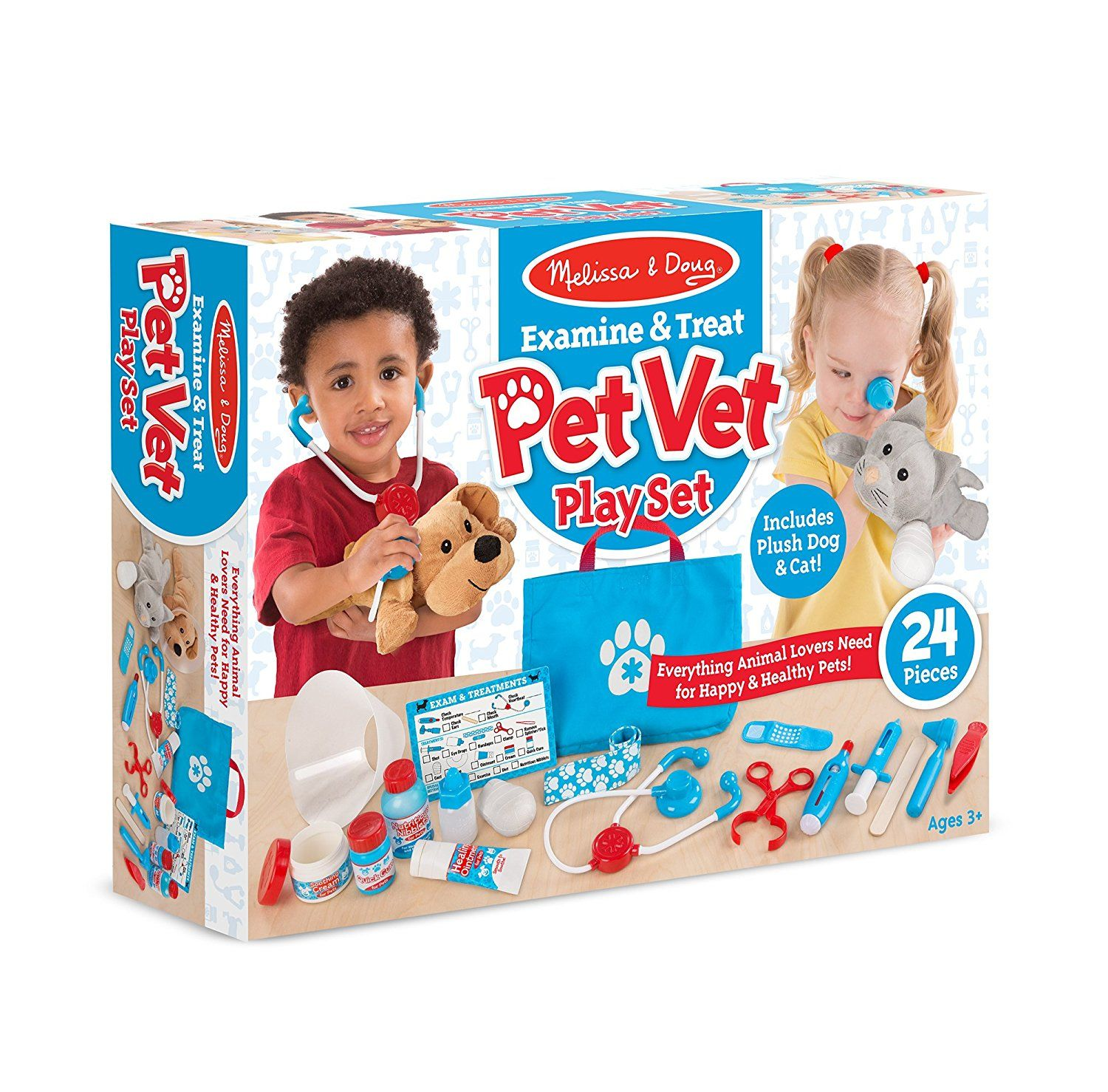 Toys and Co. | Product Detail | Examine & Treat Pet Vet Play Set