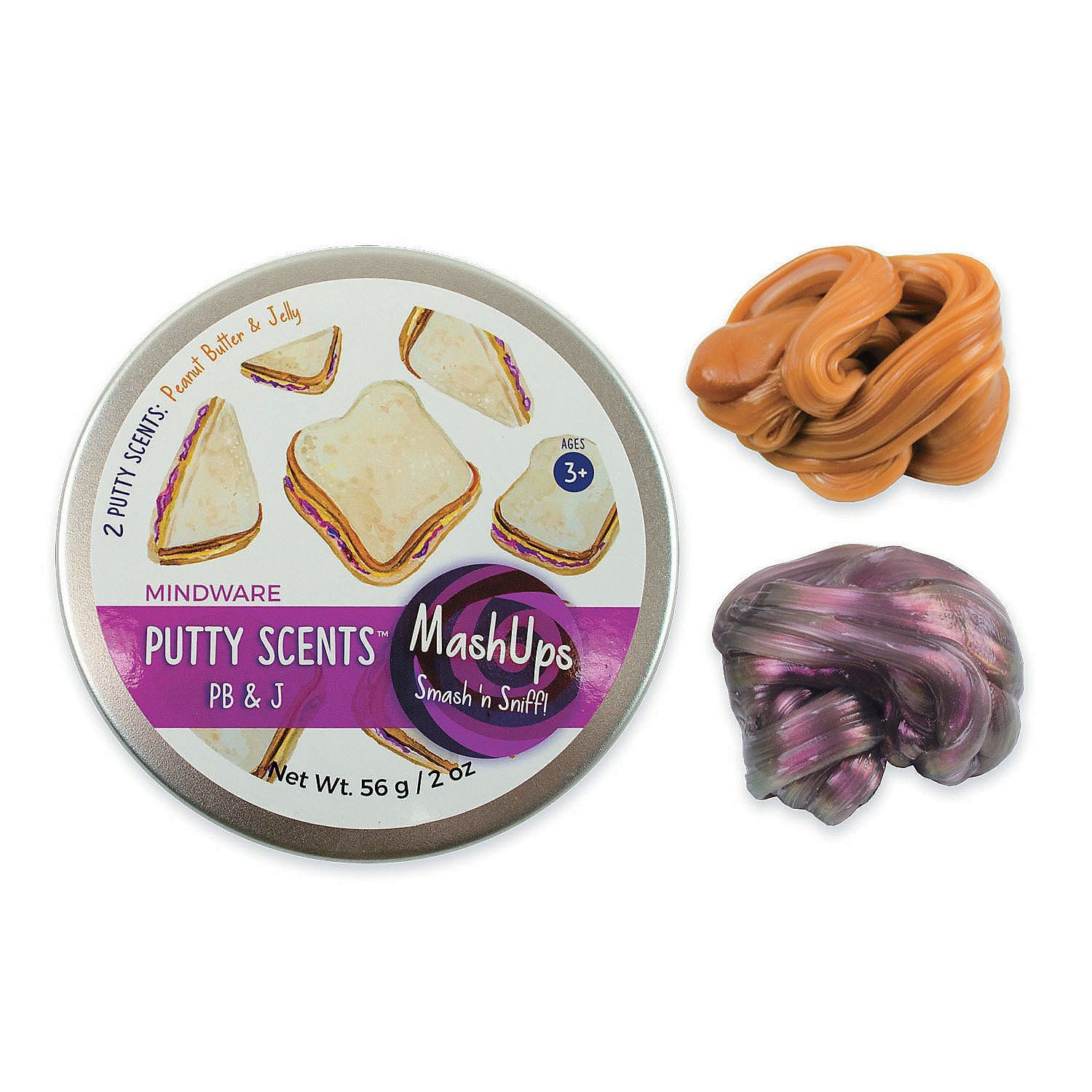 Toys and Co    Product Detail   Putty Scents PB&J