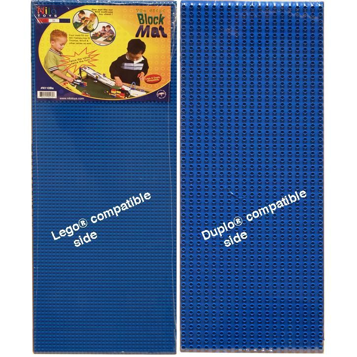 Toys And Co Product Detail Lego Block Mat 2 Sided Blue