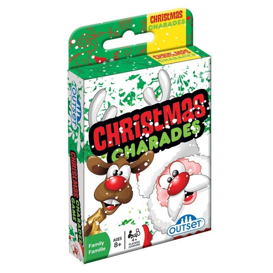 Christmas Toy Games : Toys and co product detail christmas charades card game