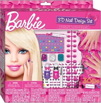 Toys And Co Barbie 3d Nail Design Set Fashion Angels